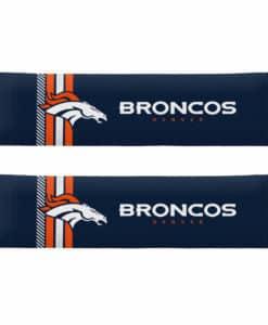 Denver Broncos Rally Design Seat Belt Pads