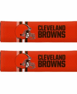 Cleveland Browns Rally Design Seat Belt Pads