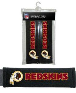 Washington Redskins Velour Seat Belt Pads