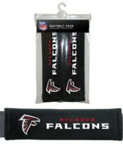 Atlanta Falcons Velour Seat Belt Pads