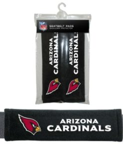 Arizona Cardinals Velour Seat Belt Pads