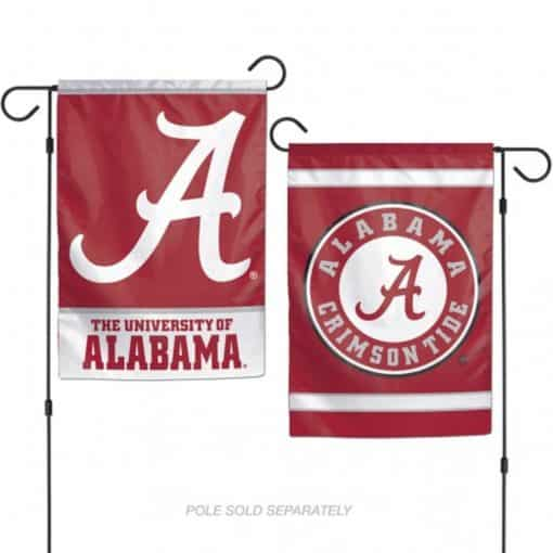 Alabama Crimson Tide Flag 12x18 Garden Style 2 Sided