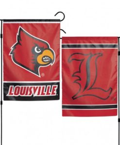 Louisville Cardinals Flag 12x18 Garden Style 2 Sided