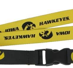 Iowa Hawkeyes Reversible Lanyard