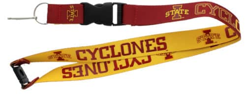 Iowa State Cyclones Reversible Lanyard