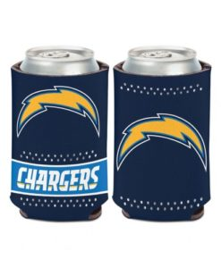 Los Angeles Chargers 12 oz Navy Bling Can Koozie Holder