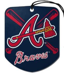 Atlanta Braves Shield 2 Pack Air Freshener