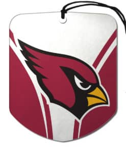 Arizona Cardinals Air Freshener Shield Design 2 Pack
