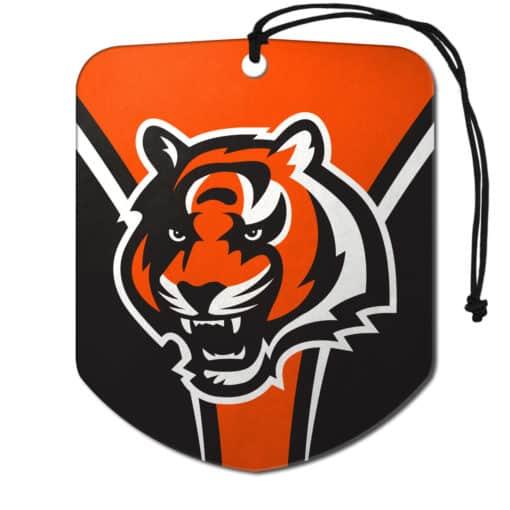 Cincinnati Bengals Air Freshener 2 Pack Shield Design