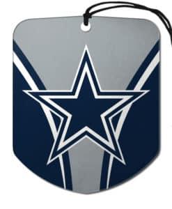 Dallas Cowboys Air Freshener 2 Pack Shield Design