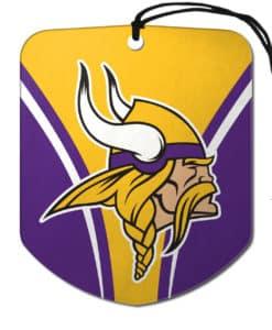 Minnesota Vikings Air Freshener 2 Pack Shield Design