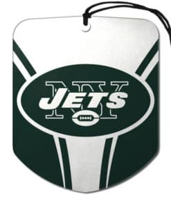New York Jets Air Freshener 2 Pack Shield Design