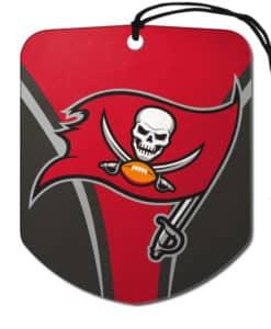 Tampa Bay Buccaneers Shield 2 Pack Air Freshener