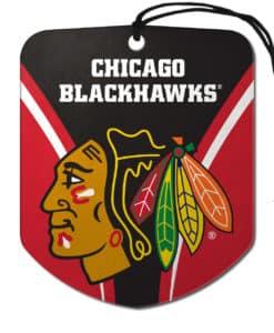 Chicago Blackhawks Shield 2 Pack Air Freshener
