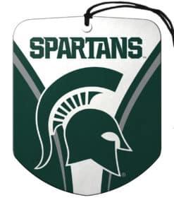 Michigan State Spartans Air Freshener Shield Design 2 Pack