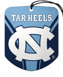 North Carolina Tar Heels Air Freshener Shield Design 2 Pack