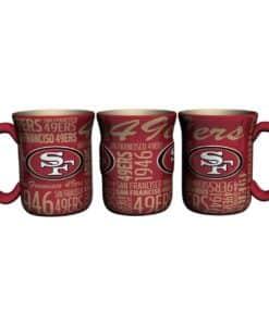 San Francisco 49ers Mug 17oz Spirit Style