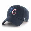 Kansas City Royals Red White & Blue 47 Brand Navy Clean Up Adjustable Hat