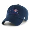 Colorado Rockies Red White & Blue 47 Brand Navy Clean Up Adjustable Hat