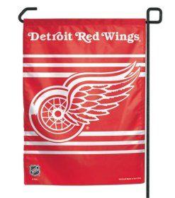 """Detroit Red Wings 11""""x15"""" Garden Flag"""
