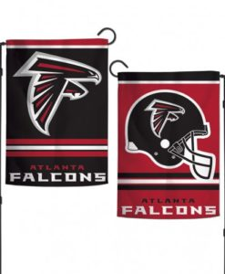 "Atlanta Falcons 12.5""x18"" 2 Sided Garden Flag"