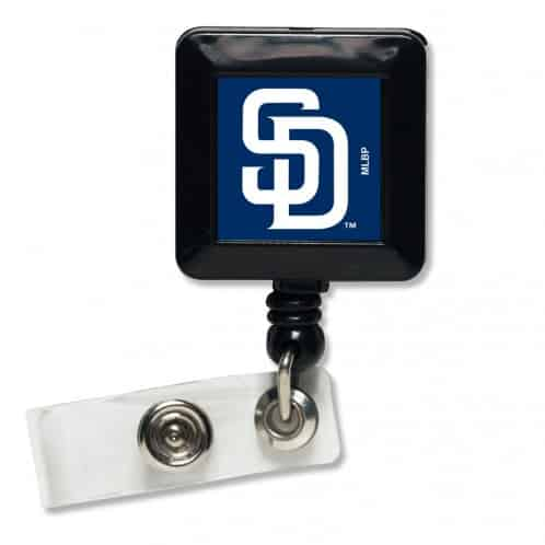 San Diego Padres Retractable Badge Holder