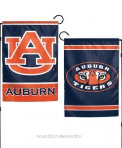 "Auburn Tigers 12.5""x18"" 2 Sided Garden Flag"