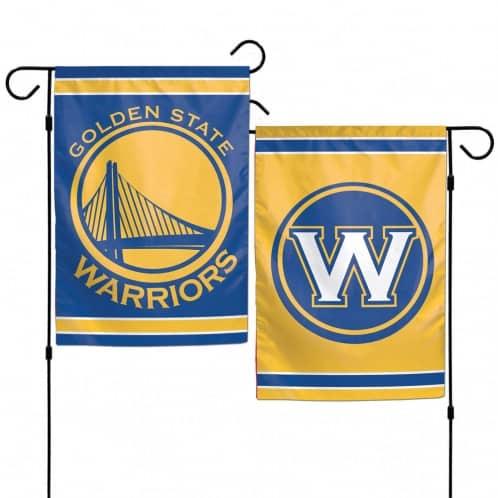 "Golden State Warriors 12.5""x18"" 2 Sided Garden Flag"