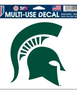 """Michigan State Spartans 5""""x6"""" Color Multi-Use Decal"""