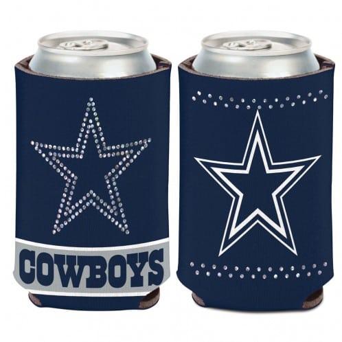 Dallas Cowboys 12 oz Bling Navy Can Koozie Holder