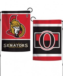 "Ottawa Senators 12.5""x18"" 2 Sided Garden Flag"