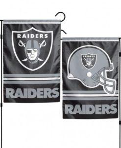 "Las Vegas Raiders 12.5""x18"" 2 Sided Garden Flag"