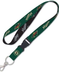 Minnesota Wild Lanyard with Detachable Buckle