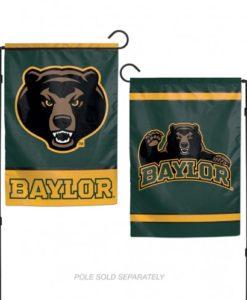 """Baylor Bears 12.5""""x18"""" 2 Sided Garden Flag"""