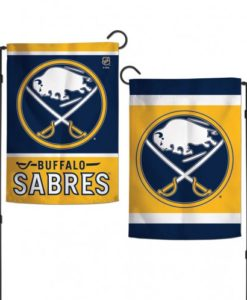 "Buffalo Sabres 12.5""x18"" 2 Sided Garden Flag"