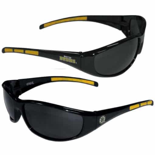 Boston Bruins Sunglasses - Wrap