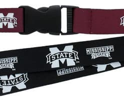 Mississippi State Bulldogs Reversible Lanyard