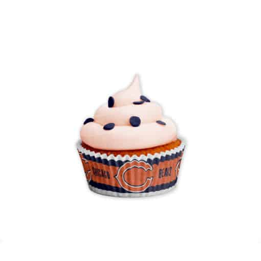 Chicago Bears Baking Cups Large 50 Pack