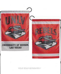 "UNLV Nevada Las Vegas Rebels 12.5""x18"" 2 Sided Garden Flag"