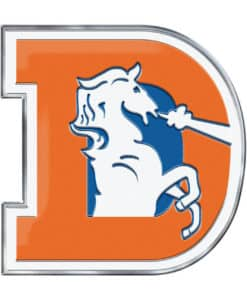 Denver Broncos Color Auto Emblem