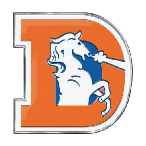 Denver Broncos Color Auto Emblem