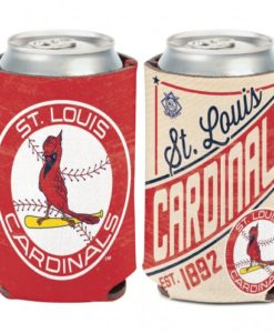 St Louis Cardinals 12 oz Red Cooperstown Can Koozie Holder