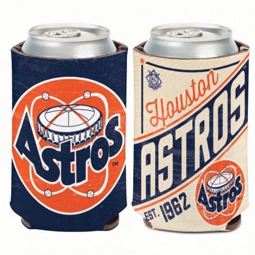 Houston Astros 12 oz Navy Cooperstown Can Koozie Holder