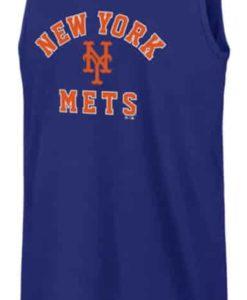New York Mets 47 Brand Men's Blue Splitter Tank Top