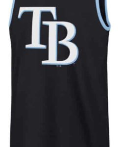 Tampa Bay Rays 47 Brand Men's Navy Splitter Tank Top