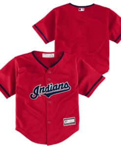 Cleveland Indians Baby Red Alternate Jersey