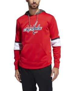 Washington Capitals Men's Adidas Red Pullover Jersey Hoodie