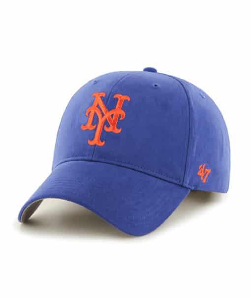 New York Mets INFANT 47 Brand Blue MVP Stretch Hat