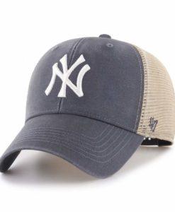 New York Yankees 47 Brand Vintage Navy MVP Mesh Adjustable Hat
