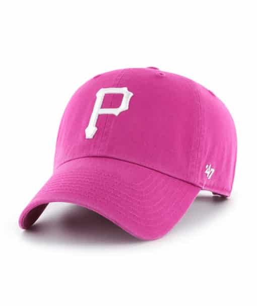 Pittsburgh Pirates Women's 47 Brand Orchid Clean Up Adjustable Hat